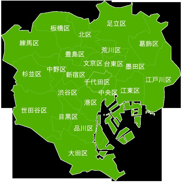 東京23区MAP
